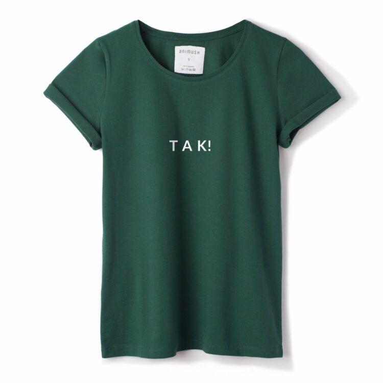 animush t-shirt z nadrukiem tak