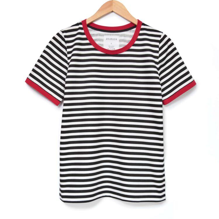 animush t-shirt ringer w paski