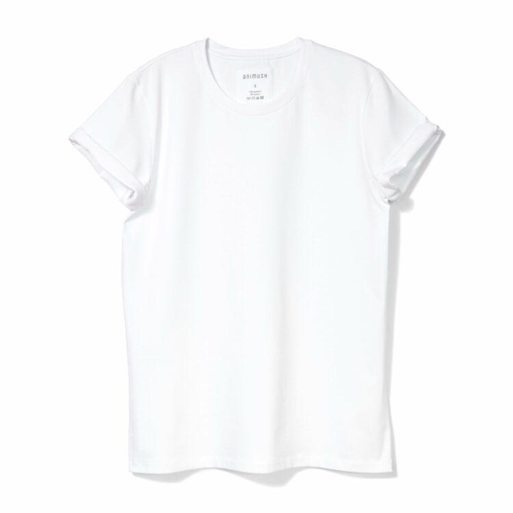 animush t-shirt oversize biały