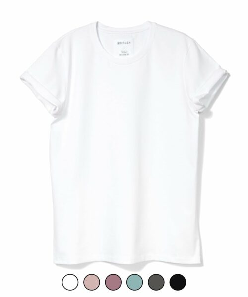 animush t-shirt oversize gładki