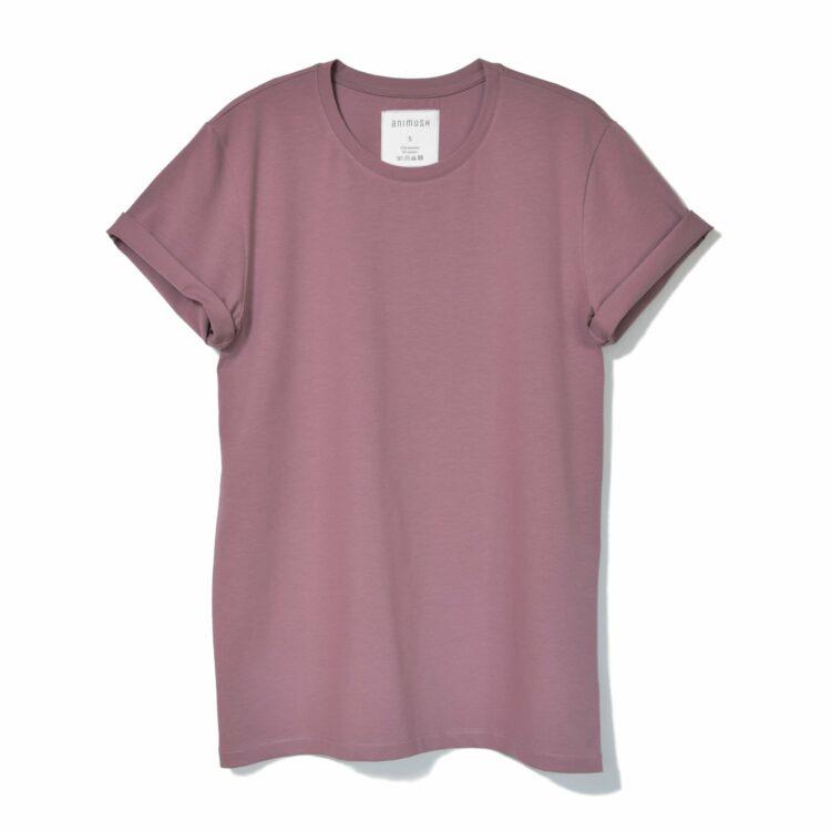 animush t-shirt oversize wrzosowy