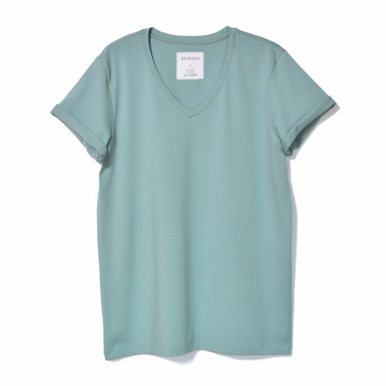 animush t-shirt oversize zgaszona mięta
