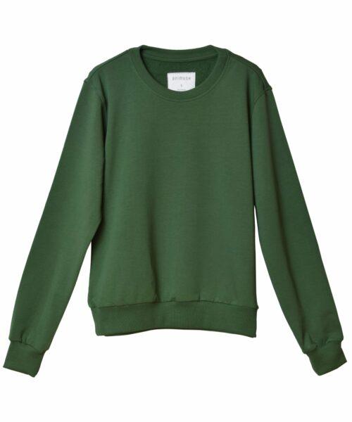 animush bluza zielona gładka