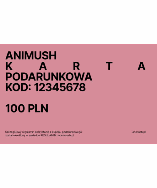 animush voucher 100 PLN