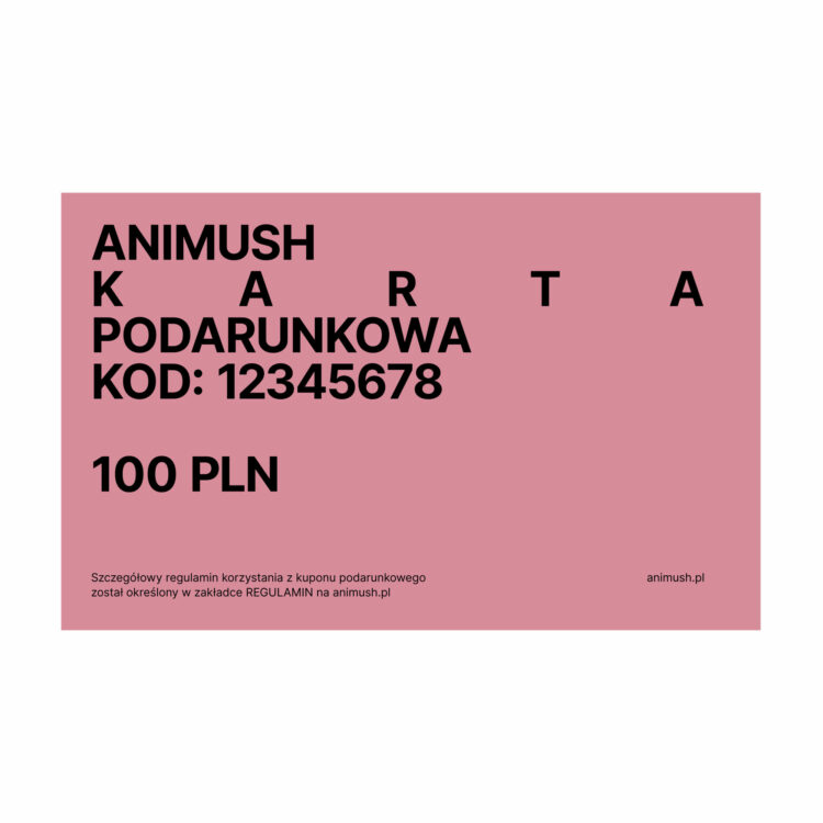 animush voucher 100 PLN