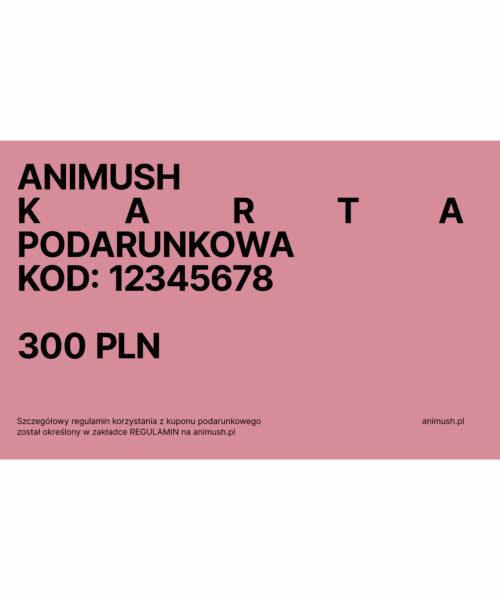 animush voucher 300 PLN