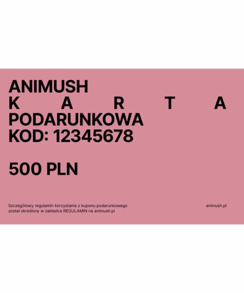 animush voucher 500 PLN