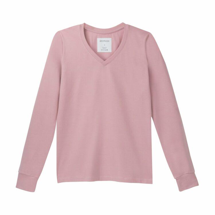 animush longsleeve różowy