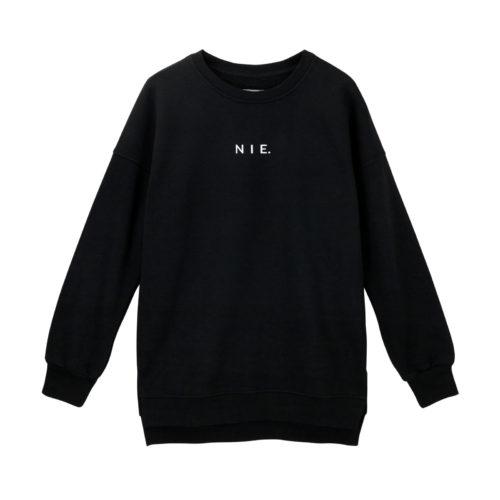 animush bluza oversize czarna nie