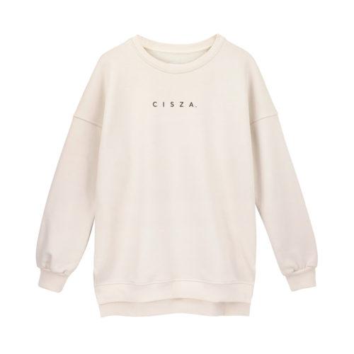 animush bluza oversize piaskowa cisza