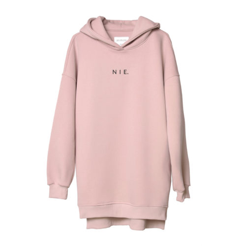 animush bluza long różowa nie