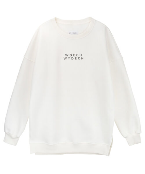 animush bluza oversize kremowa wdech wydech