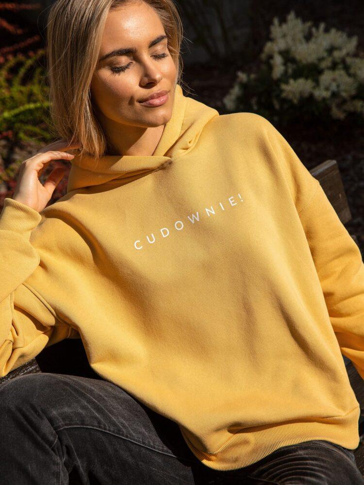 animush bluza hoodie miodowa cudownie