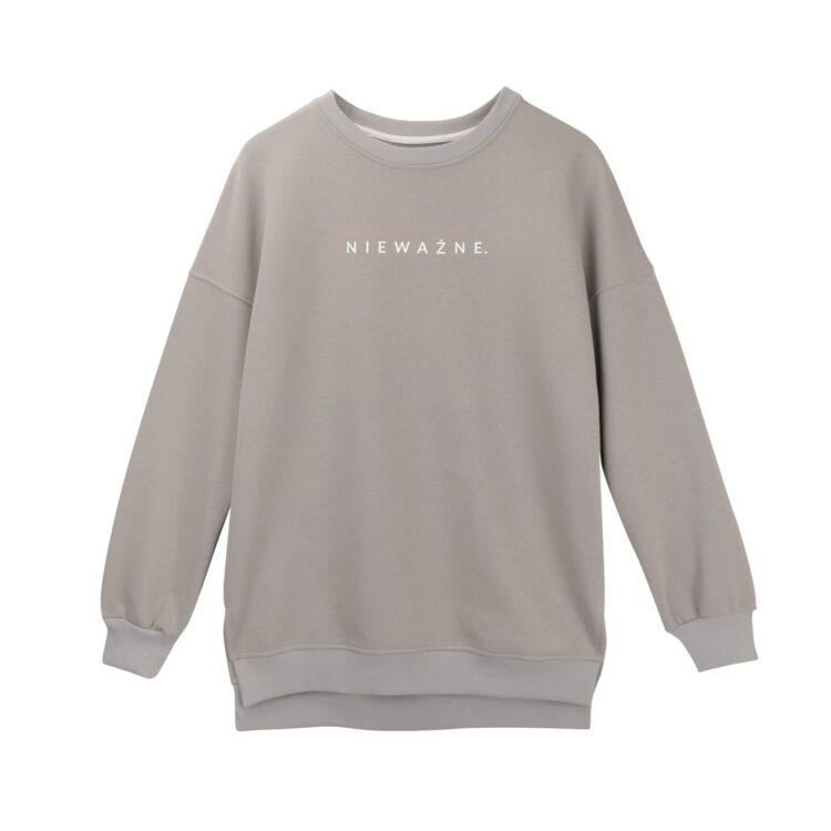 animush bluza oversize szara nieważne
